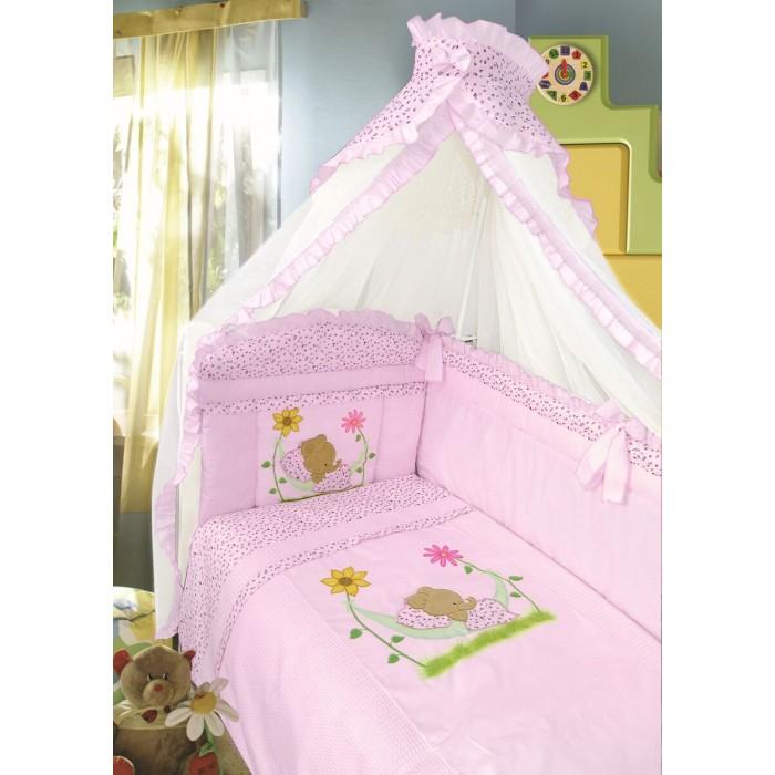 Комплект для кроватки Золотой Гусь Сладкий сон (7 предметов)