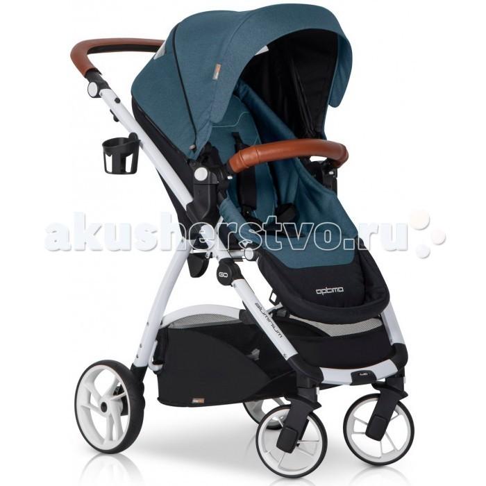 Прогулочная коляска EasyGo OptimoOptimoДетская коляска EasyGo Optimo станет незаменимой во время прогулок. Ее основными положительными чертами являются удобство и безопасность, может помочь заботливым родителям в организации детского досуга.  Характеристики: Современная детская коляска предназначена для детей в возрасте от 6 до 36 месяцев и весом до 15 кг Возможность установки сиденья в 2 положениях (лицом к маме, либо лицом по направлению движения) Система складывания - книжка Алюминиевая рама Капюшон с дополнительной секцией и козырьком от солнца Безопасный бампер для ребенка обтянутый экокожей Возможность складывания коляски одним движением, не складывая при этом капюшон и бампер 4 позиции положения спинки 2-ступенчатая регуляция подножки 5-точечные ремни безопасности с мягкими плечевыми накладками Плавная тормозная система Удобная ручка из экокожи с возможностью регулировки по высоте Система ускоренной сборки и разборки колес Автоматическая блокировка коляски в сложенном виде для легкого перемещения Окно в капюшоне Материал коляски из плотной водонепроницаемой ткани, снимается для стирки Произведена в соответствии с европейским стандартом безопасности EN 1888: 2012  В комплекте: Держатель для бутылочки Утепленный чехол на ножки Дождевик с вентиляционными отверстиями и дополнительным окошком Вместительная корзина с легким доступом  Размеры: В разобранном с колесами (д/ш/в): 89x59x109 см Сложенные вместе с колесами (д/ш/в): 80x59x37 см Сложенная без колес (д/ш/в): 78x51x18 см Ширина сиденья: 32 см Глубина сиденья: 24 см Высота спинки: 43 см Длина подножки: 19 см Диаметр передних колес: 17 см Диаметр задних колес: 22 см Вес рамы с колесами: 6.7 кг Вес прогулочного блока: 4.5 кг Общий вес коляски: 11.2 кг<br>