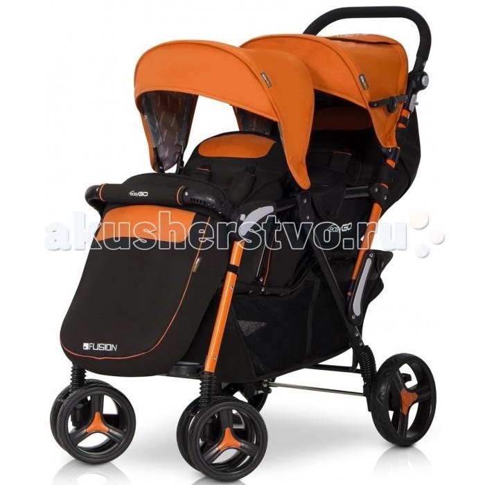 EasyGo Прогулочная коляска для двойни Fusion Duo