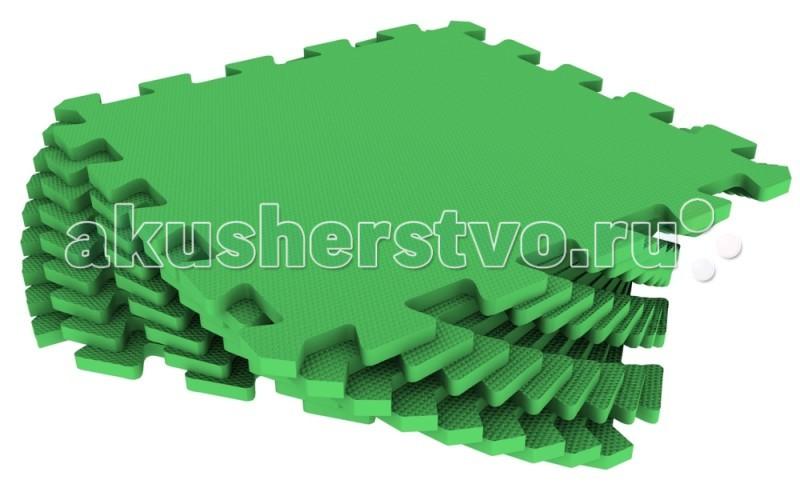 Игровой коврик Экопромторг универсальный 33х33 см 9 деталей