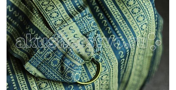 Слинг Ellevill Zara с кольцами, хлопок M (2.1 м)