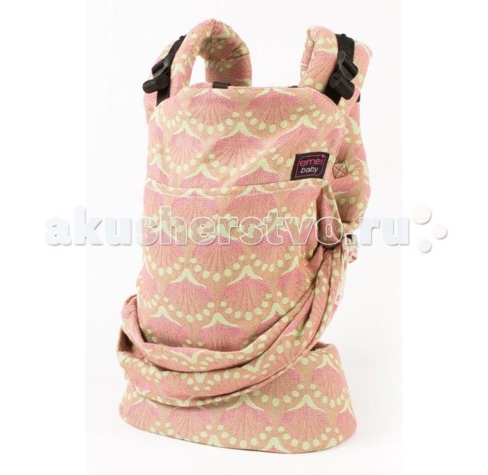Рюкзак-кенгуру Emeibaby IpaIpaEmeibaby Слинг-рюкзак Ipa  Emeibaby является гибридом слинга и эргономичного рюкзака. Он объединяет в себе преимущества слинга с простотой использования рюкзака. Emeibaby придуман мамой, которая оценив преимущества слинга, не хотела отказываться от него со своей маленькой дочкой, но, в то же время, хотела упростить процесс использования. Она много экспериментировала. И, наконец, придумала альтернативу - emeibaby – слинг для малыша и рюкзак для родителя. И никаких намоток и узлов!  Рюкзак пропорционально распределяет нагрузку для родителя за счет широких набивных лямок и поясного ремня. Поясной ремень широкий и удобный. Носить малыша комфортно не только на бедрах, но и на талии и выше.  Этот эрго-рюкзак идеально подходит малышам вне зависимости от его роста и размера! Ткань слинга оптимально регулируется таким образом, что края всегда находятся под коленками малыша!! Слинговая часть emeibaby обеспечивает равномерное натяжение по спинке и правильное разведение ножек. Cлинг двойного шарфового плетения Girasol (Германия) надежно фиксирует регулировку при помощи колец. В верхней «рюкзачной» части изделия спрятан подголовник, который можно использовать как валик под голову, для не подросшего малыша. Подголовник несъемный и предназначен для фиксации головы ребенка во время сна. Лямки рюкзака широкие, средней плотности. Предназначены только для параллельного ношения. Лямки регулируются в двух направлениях: снизу и сверху лямки.  Характеристики: Emeibaby подходит для малышей от полутора – 2 мес и до 3 лет. Длина поясного ремня регулируется от примерно от 60 см (XXS) до 150 см (XXL) Шарфовая ткань: Girasol (Германия).  !Важно отметить, что производитель Emeibaby рекомендует данное изделие даже для крох, весом 2,5 кг. Но так как эрго-рюкзак не регулируется по высоте, то спинка изделия может оказаться слишком высокой для не подросшего ребенка. Верхний край должен быть не выше середины затылка, это обеспечивает безопасное ношение и контроль дыхания 