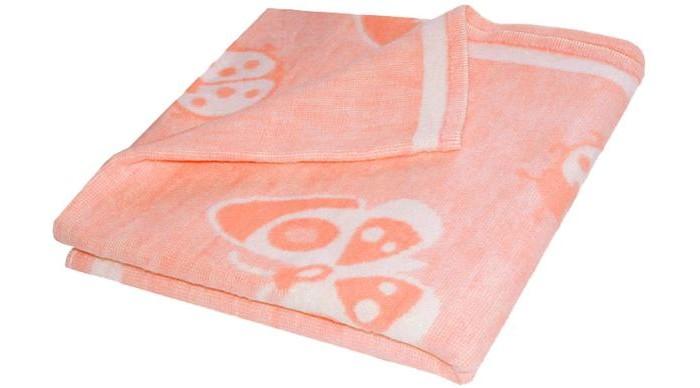 Одеяло Ермолино байковое 100х120 см