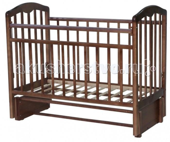 Детская кроватка Esperanza Martinа Decor №05 (продольный маятник)