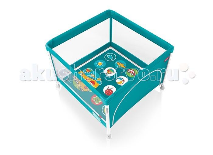 Манеж Espiro FunboxFunboxСтремитесь оградить своего ребенка от всех опасностей, но круглосуточный надзор не под силу даже таким заботливым и ответственным родителям, как Вы?  С игровым манежем Espiro Funbox Вы сможете забыть об этих проблемах! Он соответствует всем современным требованиям, предъявляемым к изделиям для детей, и создаст защищенное пространство для игр, в котором Ваш малыш будет не просто весело проводить время, но и находится в абсолютно полной безопасности.  Почему игровой манеж Espiro Funbox – лучший выбор для Вашего малыша?  Легкость и прочность конструкции. Имея всего 11 кг веса, этот манеж отличается высокой надежностью и в сложенном состоянии очень легко транспортируется, благодаря качественному удобному чехлу с большой ручкой. Имеет прочные и устойчивые опоры. Мягкий матрас. Красивые рисунки на ткани матраса с размерами 0,98 на 0,98 метра гарантированно понравятся Вашему ребенку и привлекут все его внимание, позволив Вам заняться своими делами. Боковой вход. Оснащенный надежной молнией боковой вход обеспечивает легкое попадание в манеж и свободный выход наружу из него. Приятный дизайн и качественные материалы. Современный эстетичный внешний вид этого манежа гармонично впишется в любой дизайн квартиры, став ее привычной частью. Качественные ткани, прочное и аккуратное шитье удовлетворят даже взыскательного покупателя.  Внутренний матрасик 98х98 см Размеры разложенного манежа - 105х80.5х105 см Размеры сложенного манежа - 97х24.5х23 см Вес: 10.85 кг В комплекте: чехол-сумка<br>