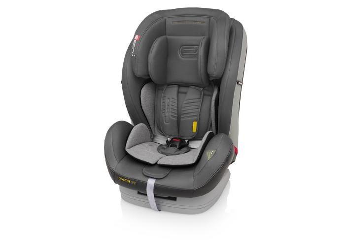 Автокресло Espiro KappaKappaАвтокресло Espiro Kappa (9-36 кг).   предназначено для перевозки детей весовых групп : 1/2/3 (от 9 до 36 кг) безопасность: соответствует Европейскому стандарту безопасности ECE R44/04; изготовлено на предприятии, имеющем сертификат ISO 9001.  способ крепления: штатными автомобильными ремнями безопасности.  Комфортное автомобильное кресло Espiro Kappa имеет: 5 положений наклона сиденья позволяет оптимально отрегулировать его во время поездки до уровня полулежа Создает комфорт для спящего ребенка – перемещает центр тяжести тела ребенка назад и надежно позволяет предотвратить наклон головы вперед во время сна 3 положений высоты подголовника. Простота регулировки высоты подголовника вместе с ремнями - это оптимальная защита ребенка каждого допускаемого веса и размера Двойная защита головы благодаря применению дополнительных слоев материалов 5-точечные ремни безопасности с мягкими накладками для детей весовой группы 1 с пряжкой шведской фирмы Holmbergs Съемный чехол из высококачественных материалов, по бокам отделка из эко-кожи, что делает автокресло одновременно и удобным и современным Автокресло Kappa так же, как и другие модели марки Espiro успешно прошло добровольные краш-тесты в PIMOT (Промышленный институт Машиностроения)  Вес 9.2 кг<br>