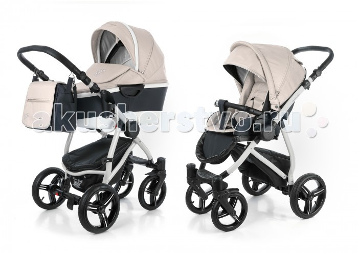 Коляска Esspero Newborn Lux Alu 2 в 1 шасси Grey