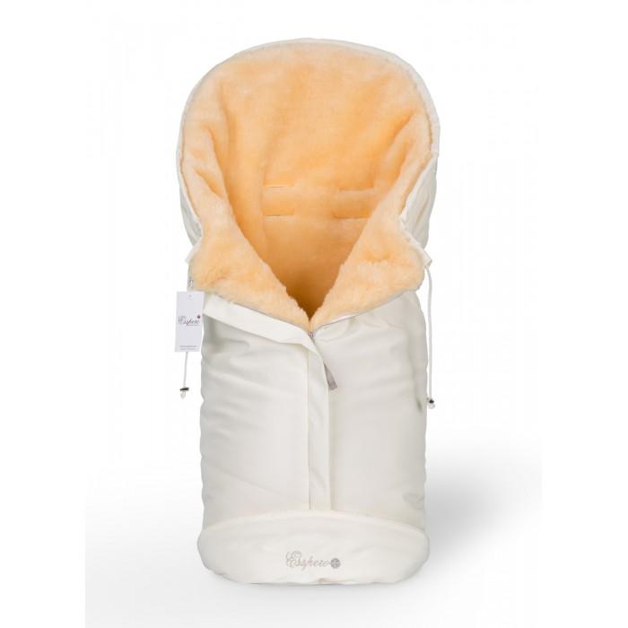 Зимний конверт Esspero Sleeping BagSleeping BagМногофункциональный конверт Esspero Sleeping Bag.  Чем же он так хорош? Во-первых компактный. Из за овальной формы он помещается во все модели колясок-люлек и прогулочных колясок. Во-вторых - удобен в использовании. 3 молнии обеспечивают легкий доступ к ребенку на прогулке, и не нужно расстегивать конверт целиком. Молнии надежно скрыты, а значит конверт прослужит долго. В третьих, конверт раскладывается почти в квадратную форму и может послужить ребенку пледом или ковриком lля игр. В четвертых - есть специальная регулировка в верхней части конверта!  Внутри конверта - 100 % овечья шерсть, гипоаллергенная, легкая и теплая. Снаружи - плотная влагонепроницаемая ткань.  Шерсть вбитая в ткань  Размер: 90 х 45 см<br>