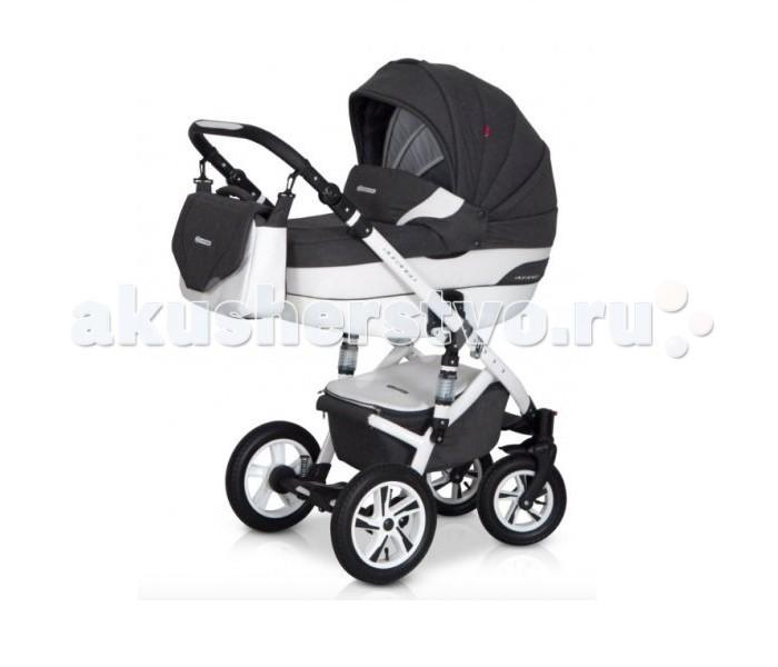 Коляска Euro-Cart Durango 2 в 1Durango 2 в 1Euro-Cart Коляска Durango 2 в 1  Если Вы ищете красивую, функциональную и современную коляску для ребенка, то Вы на верном пути, если обратили внимание на коляску Euro-Cart Durango в комплектации 2 в 1. Покупая коляску для вашего ребенка, очень важно обращать внимание на стандарты безопасности производителя, чтобы сохранить здоровье ребенка в любых ситуациях. Важными критериями безопасности есть надежное крепление ремней безопасности, устойчивая, надежная и стабильная рама для езды в экстремальных условиях, функциональная обивка, легкость управления. Коляска Euro-Cart Durango 2 в 1 - современная, многофункциональная, удобная и стильная, удовлетворит все ваши потребности. У данной модели есть возможность установки автокресла группы 0 +.  Характеристики: Легкая алюминиевая рама Большая удобная гондола с регулируемой спинкой и матрасиком Внешняя регулировка спинки гондолы Прогулочный блок может устанавливаться в двух направлениях 4-ступенчатая регулировка спинки сиденья, включая полностью горизонтальное положение Регулируемая подставка для ног Дополнительный матрас на спальное место Многоступенчатая регулировка капюшона прогулочного блока Многоступенчатая регулировка подножки Утепленный чехол на ножки Дополнительный ремень безопасности на барьере Безопасная сьемная барьерка. 5-точечные ремни безопасности Ручка из эко-кожи Регулируемая по высоте ручка Большая корзина с практической крышкой Легкий доступ к корзине Практическая большая сумка Дождевик, москитная сетка Надувные и шарикоподшипниковые колеса Насос для колес Передние колеса с блокировкой для езды прямо Центральный тормоз Регулируемая жесткость подвески.  Размеры: Разложенная с колесами: 101 х 59 х 112 см. Сложенная с колесами: 80 х 59 х 39 см. Внутренний размер гондолы 22 х 80 х 37 см. Ширина сиденья: 32 см. Высота спинки: 41 см. Глубина сиденья: 25 см. Длина подставки для ног: 19 см. Колеса диаметром (передние / задние): 24/29 см. Размеры сиденья [см], (Д х Ш х В): 