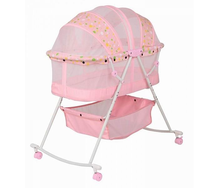 Колыбель Everflo LZ-806 качалкаLZ-806 качалкаВ колыбельке для новорожденных LZ-806 Ваш ненаглядный малыш будет с удовольствием спать.  Вы легко сможете заниматься своими домашними делами, не упуская из виду ребенка, благодаря удобным колесикам, с помощью которых Вы без труда сможете перевозить колыбель по всему дому.  Внизу расположен небольшой ящик для хранения всевозможных детских вещей  Возраст малыша: от 0 до 5-6 месяцев Колыбелька оборудована 4-мя колесиками для удобства передвижения по дому. Небольшой ящик для хранения детских вещей.<br>