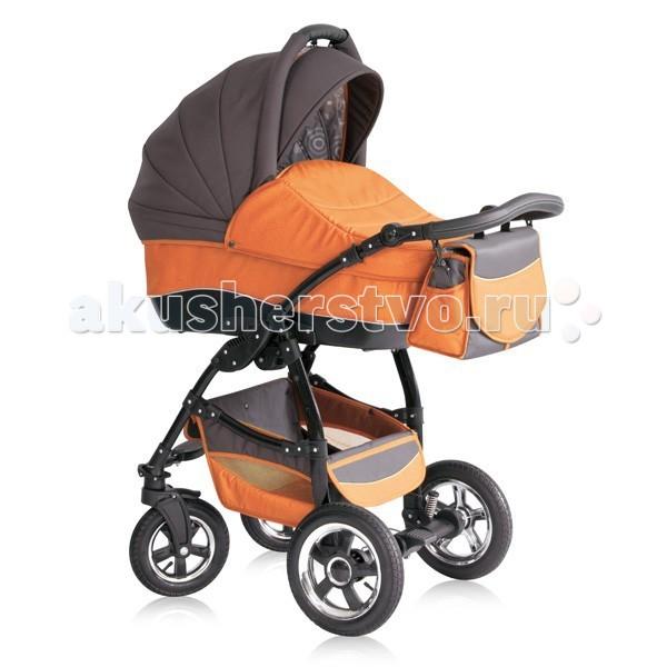 Коляска Expander Eliza 2 в 1 - Оранжевый/Серый 89