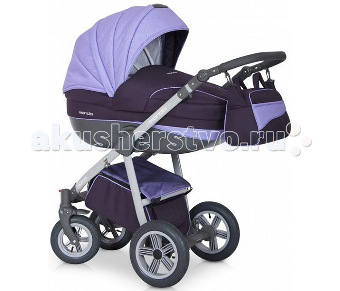 Коляска Expander Mondo Grey 2 в 1Mondo Grey 2 в 1Детская коляска Expander Mondo Grey 2 в 1 - очередная новинка известного польского бренда. Изделие обладает красивым дизайном и превосходными техническими характеристиками, отлично подходит для российских условий.   Модель может использоваться как зимой, так и летом. Подходит для новорожденных детей и малышей до 3-х лет. Имеется возможность установить совместимое автокресло 0+ (дополнительная опция).  Люлька: Просторная пластиковая люлька с регулируемым подголовником Люлька устанавливается в 2х направлениях лицом к маме, лицом к дороге Съемная подкладка с возможностью стирки Капюшон складной, съемный с вентиляционным окошком Кожаная ручка, для использования люльки в качестве переноски Внутренняя отделка люльки выполнена из натурального хлопка со стеганным синтепоном  Прогулочный модуль: Регулируемая спинка в 4-х положениях, включая горизонтальное Регулируемая подножка Бампер, 5 точечные ремни безопасности Чехол для ножек Капюшон складной, съемный Защитная перегородка с регулировкой высоты  Шасси: Новейшая конструкция рамы делает коляску более удобной и маневренной Надувные съемные колеса на подшипниках Передние поворотные колеса с фиксацией Комфортная амортизация Надежный тормоз Эргономичная кожаная ручка с регулировкой высоты в 5 положениях Вместительная корзина для покупок Шасси (59 см) - входит в любой лифт  В комплекте: шасси, прогулочный блок, люлька, дождевик, москитная сетка, сумка для мамы, матрасик.  Размеры люльки внутренние: длина 80 см,ширина 37 см,высота 22 см. Регулировки ручки (от земли): 77 см - 121 см Размеры сиденья: ширина 32 см,глубина 25 см,высота спинки 41 см,длина подножки 18см. Вес: рама 9 кг,рама+люлька 14,2 кг,рама+прогулочный блок 14,2 кг<br>