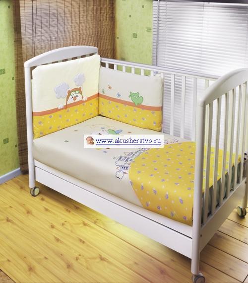 Комплект для кроватки Feretti Air Teddy Grande Plus (8 предметов)