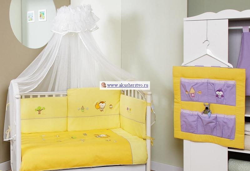 Комплект для кроватки Feretti Bee Sestetto (6 предметов)