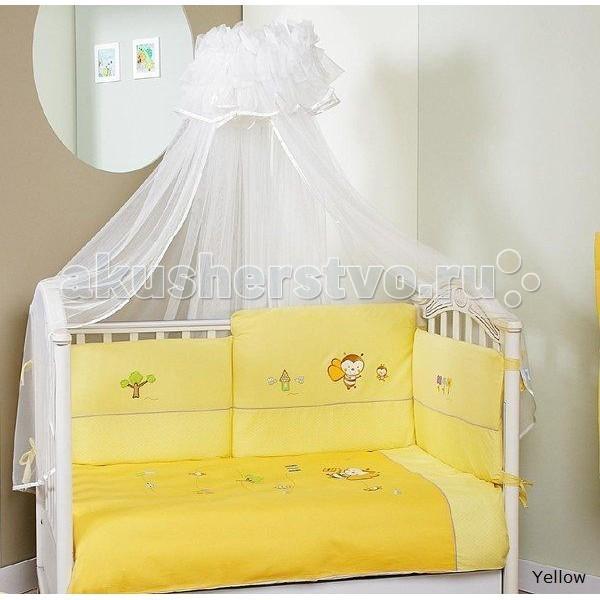 Комплект для кроватки Feretti Bee Sestetto Long (6 предметов)