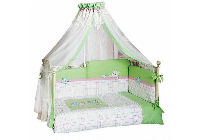 Комплект для кроватки Feretti Bella Sestetto Long (6 предметов)