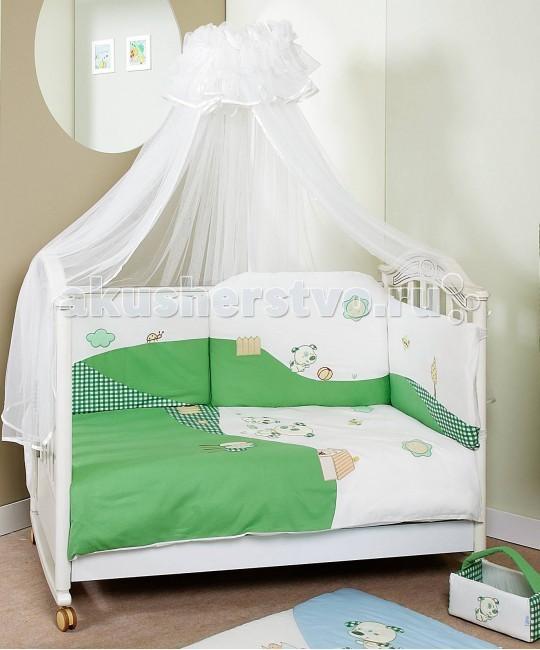 Комплект для кроватки Feretti Dogs Sestetto Long (6 предметов)