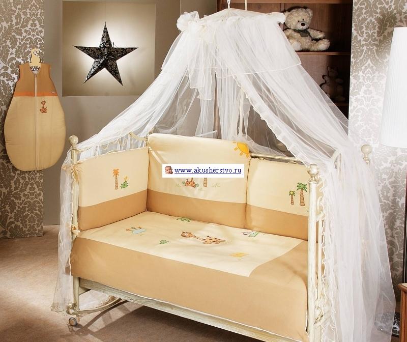 Комплект для кроватки Feretti Giraffe Sestetto Long (6 предметов)