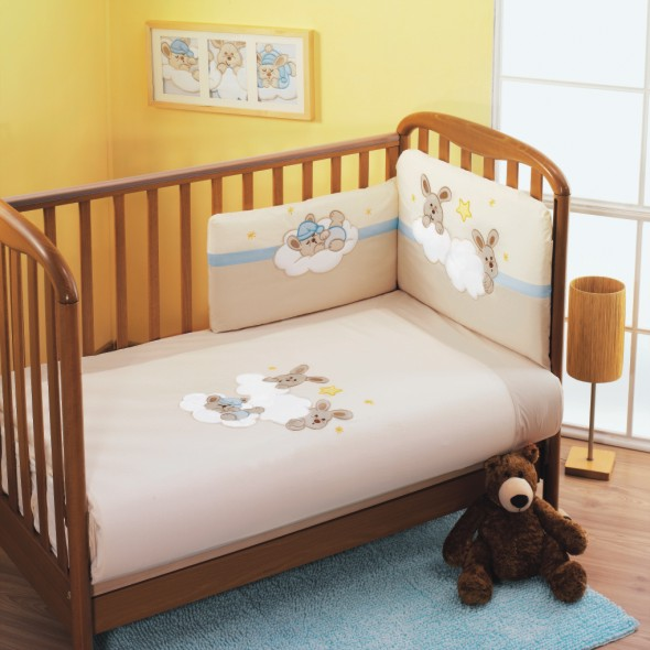 Комплект для кроватки Feretti Rabbit Sestetto (6 предметов)