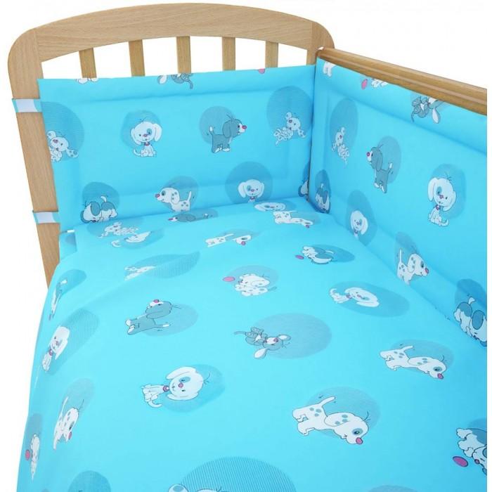 Комплект для кроватки Фея Наши друзья 120х60 (6 предметов)