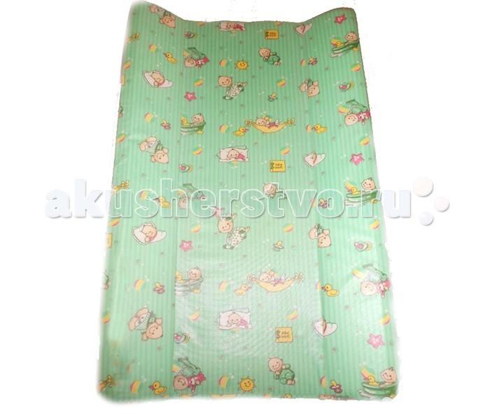 Накладка для пеленания Фея ПараллельПараллельДоска пеленальная Фея Параллель с клеенчатым покрытием.  Мягкие бортики предотвращают скатывание малыша.  Твердое основание не подвергается деформациям и сгибам.  Предназначена для ребенка в возрасте до 6 месяцев.  размеры: 79,5 x 49 x 8,6 см. параллельные мягкие бортики предотвращающие скатывание ребенка  Внимание! Рисунок может отличаться от представленного на фото!<br>