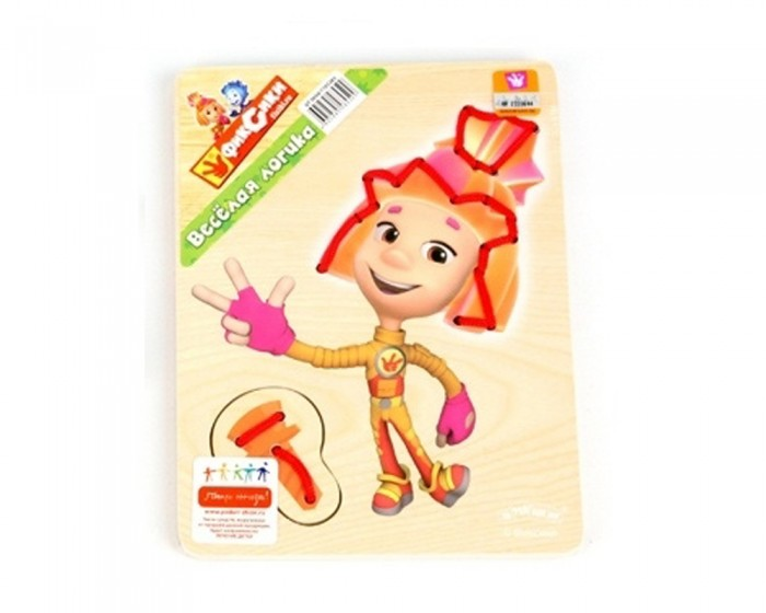 Деревянная игрушка Фиксики ШнуровкаШнуровкаФиксики Шнуровка, которая станет отличным подарком для ребенка возрастом от 1 года.   Она развивает мелкую моторику, усидчивость, концентрацию внимания, глазомер, сенсомоторную координацию малышей.<br>
