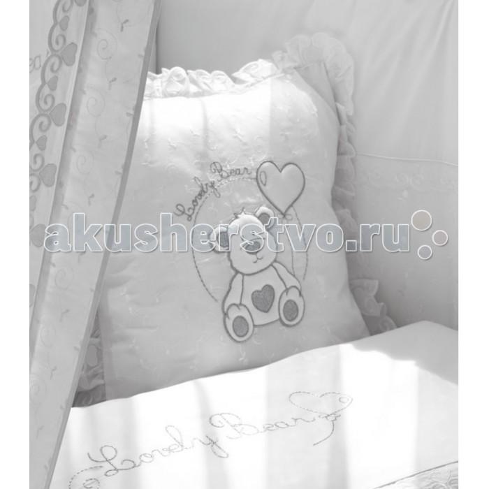 Fiorellino Подушка Lovely BearПодушка Lovely BearFiorellino Подушка Lovely Bear   Особенности: Мягкая удобная подушечка для детской комнаты  Размеры подушечки: 40х40 см  Материал наволочки: 100% хлопок<br>