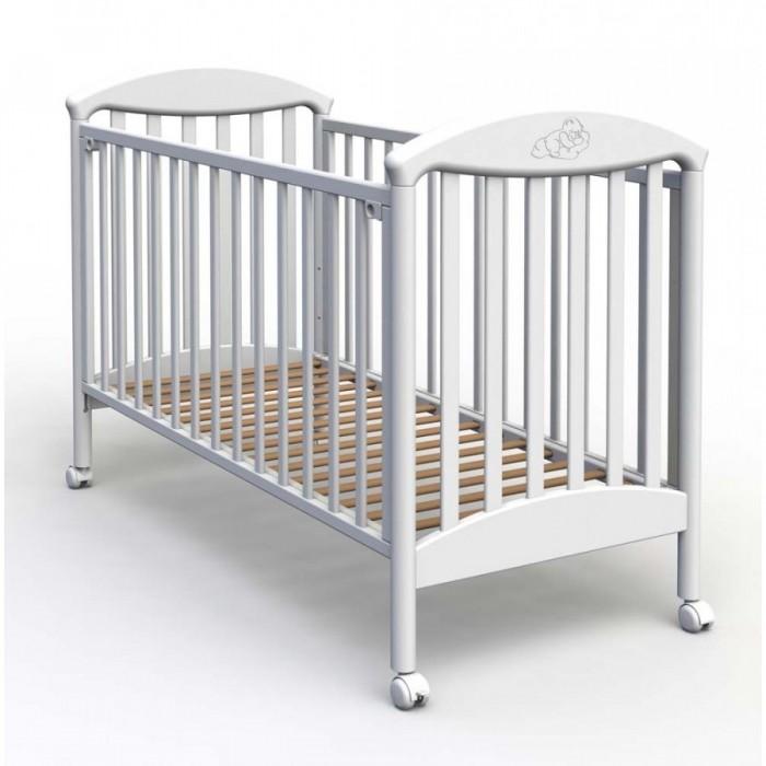 Детская кроватка Fiorellino PuPuДетская кроватка Fiorellino Pu производится из качественных и надёжных материалов, которые гарантируют практичность и долговечность использования. Каркас кроваток выполнен целиком из массива альпийского бука – он прекрасно подходит для детской мебели.  Особенности: удобная и современная детская кроватка;  материал: натуральный бук;  бортик можно опустить или полностью снять – кровать превращается в диванчик;  ложе регулируется по высоте: 3 позиции;  колёсики со стопором позволяют легко перемещать кроватку по комнате и фиксировать в выбранном месте;  нетоксичные лаки и краски.   размер спального места: 120х60 см.<br>