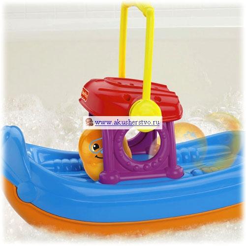 игрушка моторная лодка для ванной