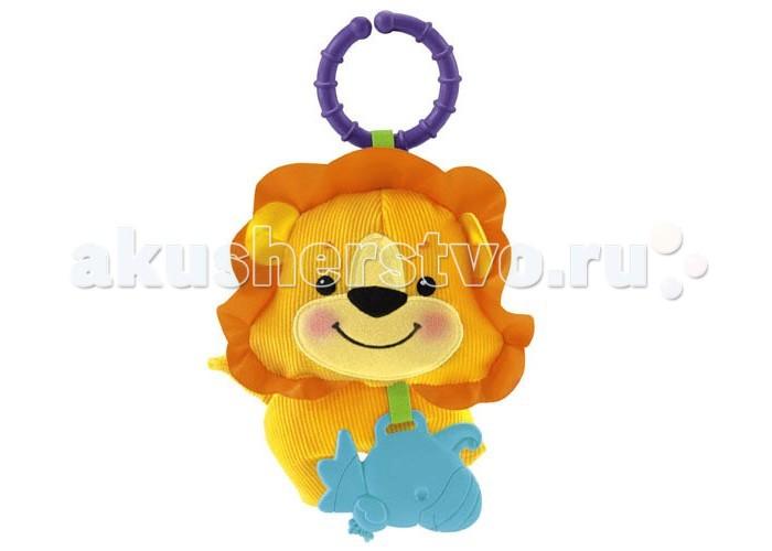 Подвесная игрушка Fisher Price Mattel Львенок/Бегемотик