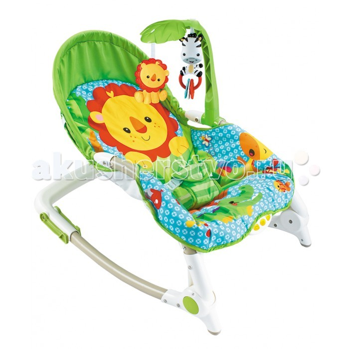 FitchBaby Кресло-качалка с игрушками и вибрацией Newborn-To-Toddler