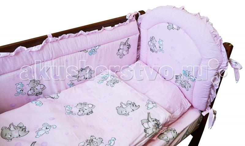 Комплект в кроватку Forest Лапуля (6 предметов)