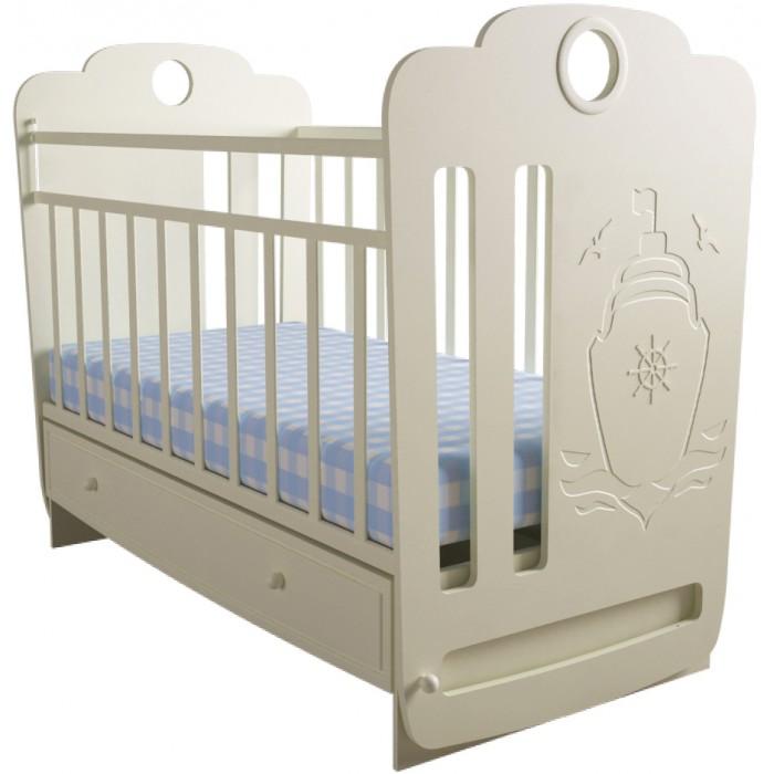 Детская кроватка Forest Морячок (маятник поперечный)