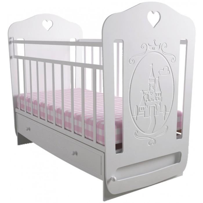 Детская кроватка Forest Принцесса (маятник поперечный)