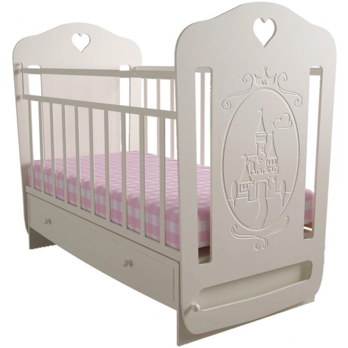 Детская кроватка, Forest, Принцесса (маятник поперечный)