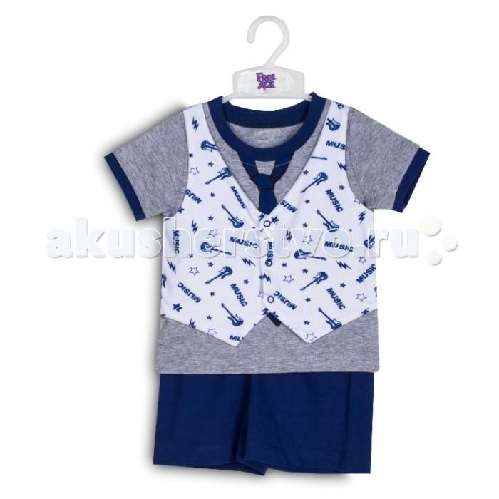 Free Age Комплект из футболки и шорт ZBB 25279-ВМО