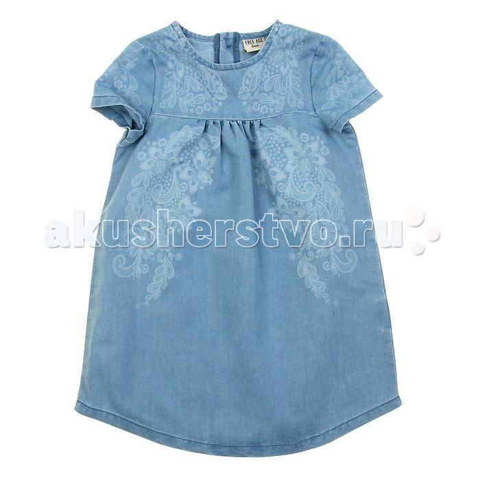 Free Age Платье джинсовое ZG 13135