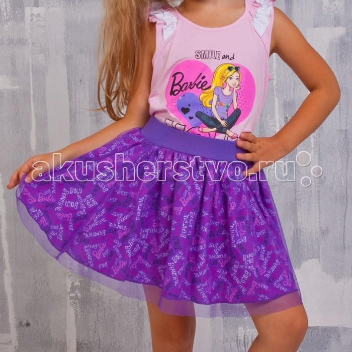 Free Age Юбка с набивкой BarbieЮбка с набивкой BarbieFree Age Юбка  Яркая юбка Free Age идеально подойдет вашей моднице и станет отличным дополнением к летнему гардеробу.   Изготовленная из натурального хлопка, она мягкая и приятная на ощупь, не сковывает движения и позволяет коже дышать, не раздражает нежную кожу ребенка, обеспечивая наибольший комфорт. Модель на поясе имеет широкую трикотажную резинку, благодаря чему юбка не сползает и не сдавливает животик ребенка.   В такой модной юбке ваша принцесса будет чувствовать себя комфортно, уютно и всегда будет в центре внимания!  Инструкция по уходу: стирка в теплой воде при температуре 40°С, не отбеливать, не сушить в центрифуге, гладить при средней температуре, химчистка запрещена.<br>