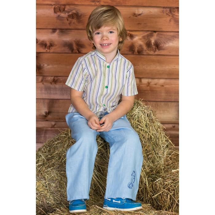 Frizzzy Рубашка детская Озорные Зеленые полоски