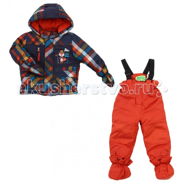 Peluchi & Tartine Куртка и полукомбинезон для мальчиков F16M03