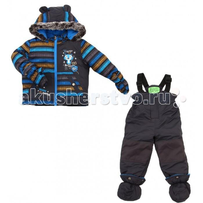 Peluchi & Tartine Куртка и полукомбинезон для мальчиков F16M11