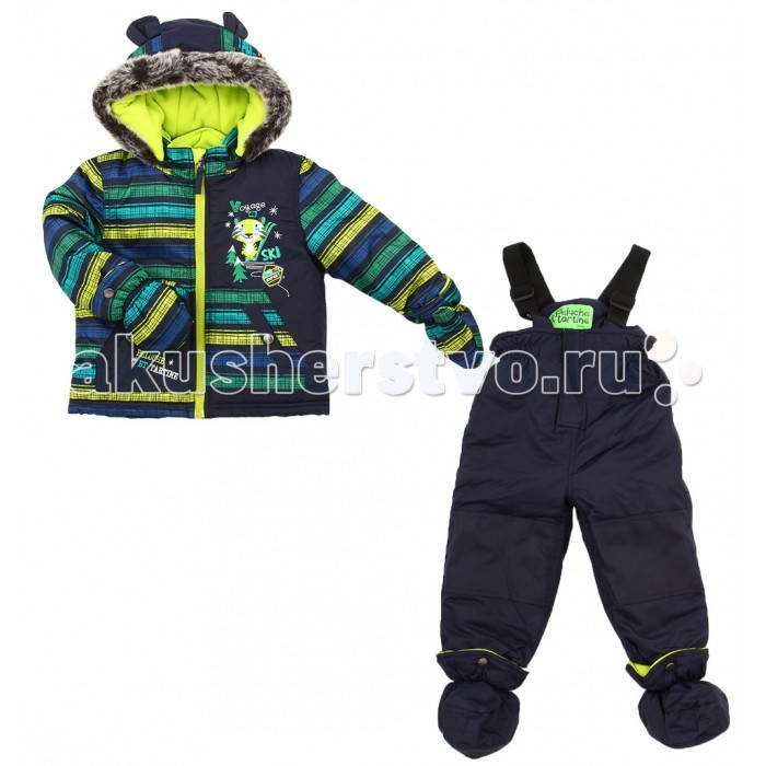 Peluchi & Tartine Куртка и полукомбинезон для мальчиков F16M11 от Акушерство