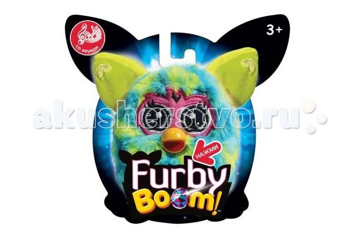 Интерактивная игрушка Furby Boom 11 смBoom 11 смFurby Boom 11 см  Серия мягких игрушек Furby Boom не перестает радовать своих поклонников все новыми и новыми игрушками. Яркая окраска, лучезарные глаза, подвижные ушки, лапы, хвост и умение разговаривать на русском и фербише, делают ее такой любимой среди детей. Этот дружелюбный пушистик станет отзывчивым другом, а благодаря маленькому размеру, сможет везде быть со своим товарищем.   Возраст: от 3 лет Для мальчиков и девочек Наличие батареек: входят в комплект. Игрушка (состав): искусственный мех, наполнитель, пластик Высота игрушки: 11 см.<br>