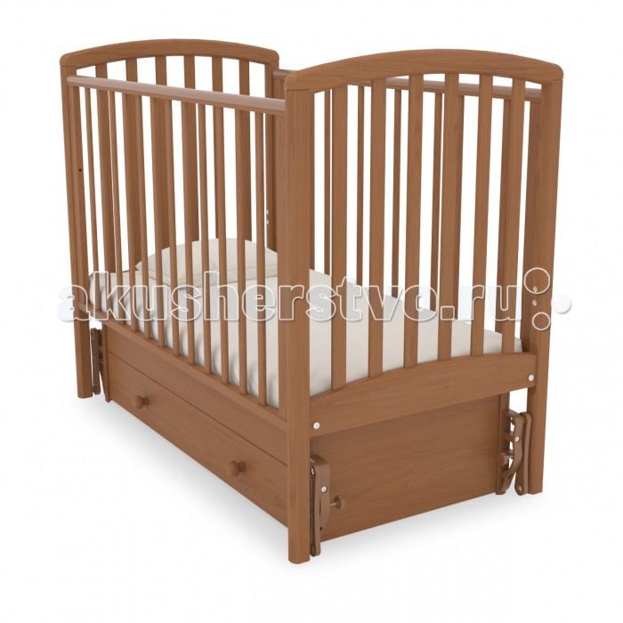 Детская кроватка Гандылян Дашенька (универсальный маятник) - Вишня