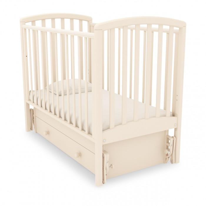 Детская кроватка Гандылян Дашенька (универсальный маятник) - Слоновая кость