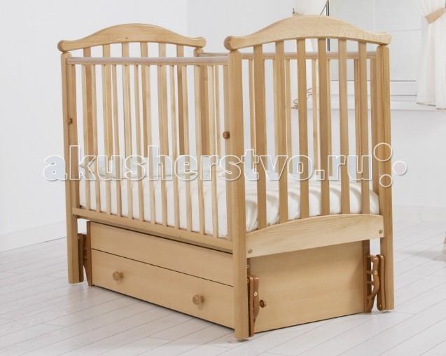 Детская кроватка Гандылян Людмила (универсальный маятник) - Натуральный