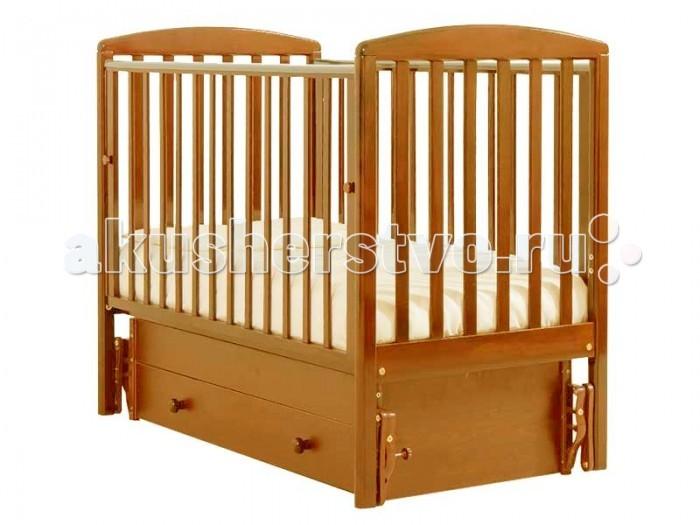 Детская кроватка Гандылян Полина (универсальный маятник) - Вишня