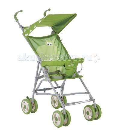 Коляска-трость Geoby D202A-FD202A-FGeoby D202A-F – легкая коляска-трость для прогулок с малышом в теплое время года. Передние колеса – поворотные, что придает коляске отличную маневренность в городских условиях.   Коляска имеет малый вес, очень удобно и компактно складывается. Такая модель станет прекрасным решением для поездок на общественном транспорте, а также дальних путешествий.  Особенности: - Стальная рама - Сдвоенные колеса из мягкого пластика, диаметр 14 см - Фиксируемые поворотные передние колеса - Компактно складывается - Мягкая спинка - Одно положение спинки - Ремни безопасности 3-х точечные  - Перекладина перед ребенком - Солнцезащитный козырек - Вес коляски: 4,2 кг - Размеры в разложенном виде Ш*Д*В 41х75х89 см - Размеры в сложенном виде Ш*Д*В 22х33х106 см<br>