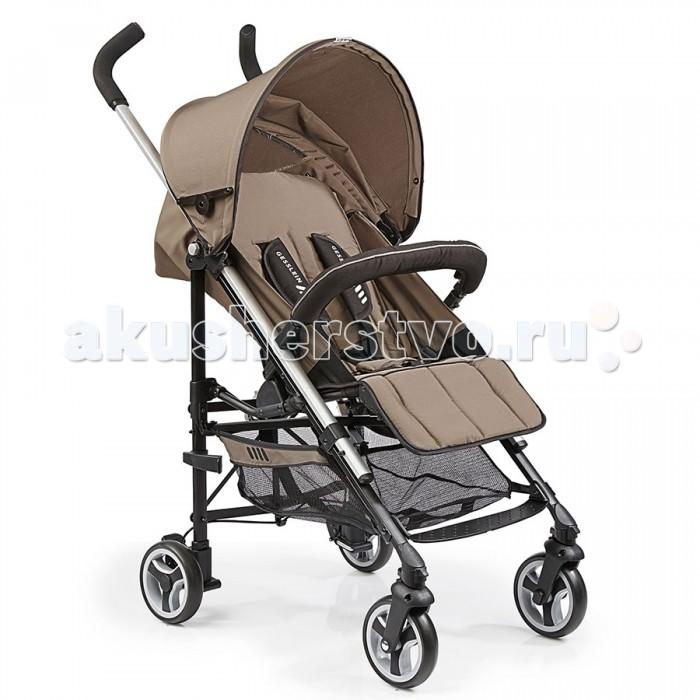 Коляска-трость Gesslein S5 2+2 SportS5 2+2 SportПрогулочная коляска S5 от Gesslein обеспечит Вас и Вашего малыша комфортом и безопасностью – она сочетает в себе городскую маневренность и функционал повседневного использования.  Вы можете начать использовать коляску S5 как только Ваш малыш научится сидеть. Легкая алюминиевая рама очень прочна и может полностью складываться в трость. Благодаря двум поворотным колесам спереди Вы можете легко маневрировать даже на узких улочках. В зависимости от обстоятельств Вы можете заблокировать колеса.  Спинка сиденья имеет несколько положений наклона, что позволит Вашему малышу уютно уснуть в коляске. Регулируемый увеличивающийся капор защищает Вашего малыша от ветра и плохой погоды, оборудован смотровым окном для контроля за малышом. Вместительная корзина для похода по магазинам и для других полезных принадлежностей.  Мягкие пятиточечные ремни безопасности и съемный/разъемный бампер оберегают Ваше маленькое чадо от падений и резкого вставания. Съемный/разъемный бампер, в свою очередь, также обеспечивает легкий доступ малыша в коляску.  Характеристики: Алюминиевая рама Передние поворотные колеса с блокировкой Несколько позиций регулировки спинки сиденья Увеличивающийся капор для защиты от ветра и непогоды со смотровым окном Мягкий 5-ти точечный ремень безопасности Корзина для покупок и мелочей Съемный/разъемный бампер в комплекте Компактный размер в сложенном виде и легкий вес Наклонная поверхность: 88 x 32 см Спинка сиденья: 49 см Высота сиденья: 63 см Высота родительской ручки: 108 см Размер в сложенном виде: 28 x 20 x 99 см Вес: 6.8 кг Ширина рамы: 51 см<br>