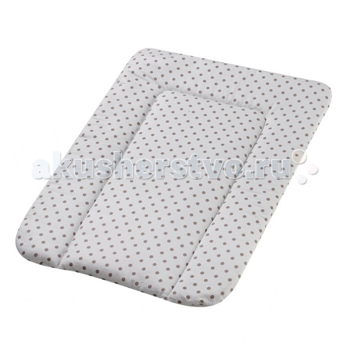 Накладка для пеленания Geuther 58325832Матрасик для пеленания Geuther 5832.  На пеленальных матрасиках Вашему малышу будет удобно, кроме того, они имеют бортики, подушечку для защиты головы.  При необходимости пеленальный матрасик можно стирать.  Группа 0 (рождение - 10 кг)  Размеры: 75 x 52 см  Вес: 1.3 кг<br>